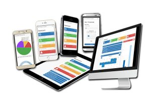 Fully responsive web application
